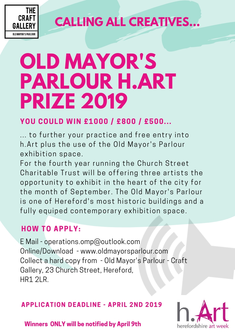 h Art Prize 2019 - Old Mayor's Parlour